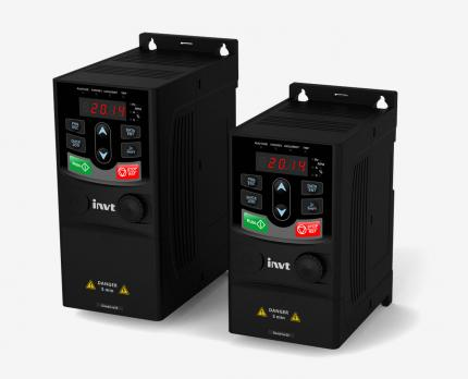 Частотный преобразователь INVT GD20-0R7G-S2 (0,75 кВт, 220 В, 1 Ф, IP 20)