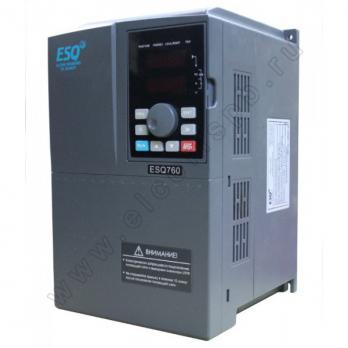 Частотный преобразователь ESQ-760-4T0055G/0075P 5.5/7.5 кВт IP54, 380В