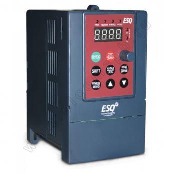 Частотный преобразователь ESQ-A200-2S0037 3.7кВт 200-260В (для однофазного двигателя)