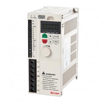 Частотный преобразователь Веспер E4-8400-S3L (2,2 кВт, 1 Ф, 220В)
