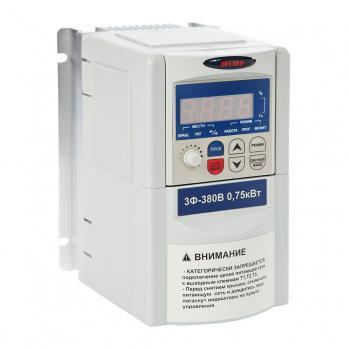 Частотный преобразователь Веспер E3-9100-002H (1,5 кВт, 3Ф, 380 В)